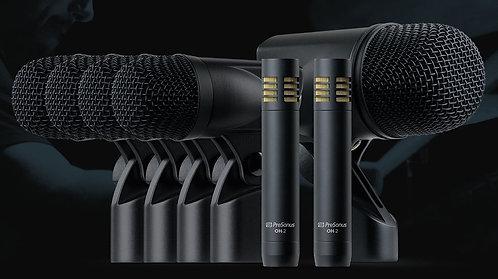 PreSonus DM-7: Complete Drum Microphone Set for Recording and Live Sound