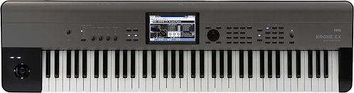 KORG KROME EX 73 Krome with New Sounds and PCM - 73-key