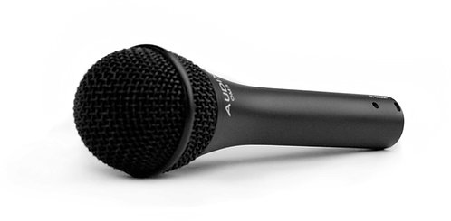 Audix OM5 Vocals, lead and backing, with very tight pattern control