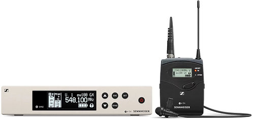 Sennheiser EW 100 G4-ME2 Wireless Lavaliere Mic (cardioid)