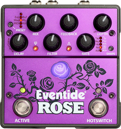 Eventide Rose: Compact Modulated Digital Delay