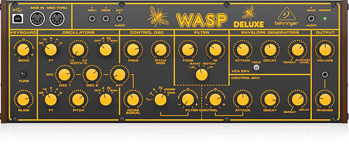 Behringer WASP DELUXE Legendary Hybrid Synthesizer with Dual OSCs, Multi-Mode VC