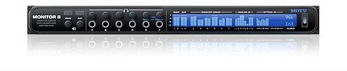 MOTU Monitor 8 Monitor Mixer, Headphone amp and USB2/AVB Audio Interface