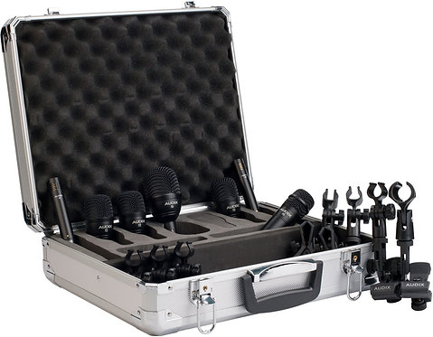 Audix FP 7 Fusion Pack 7-piece Drum Microphone Package