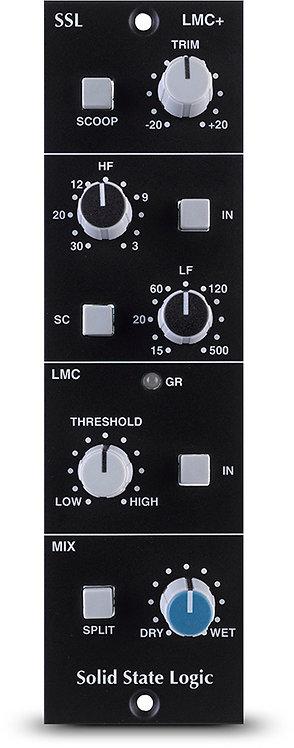 SSL LMC+:  listen mic compressor and filter for 500-series