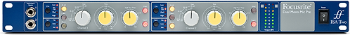 Focusrite ISA TWO: Two Channels Of Classic Focusrite Mic Pres