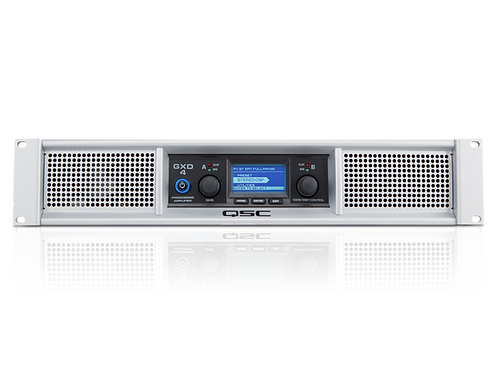 QSC GXD4 600 watts/ch at 4Ω Power Amp