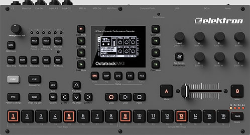 Elektron Octatrack MKII: 8 track dynamic performance sampler