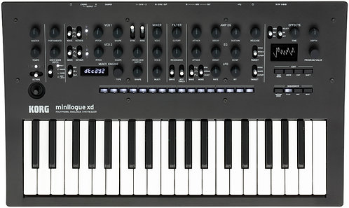 KORG minilogue xd  Next-gen minilogue with MULTI engine, expanded sequencer