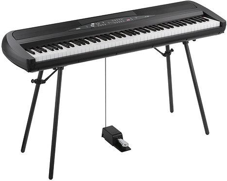 Korg SP280: 88 KEY DIGITAL PIANO W/SPEAKERS, STAND