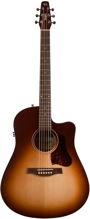 Seagull Entourage Autumn Burst CW QIT: Slim Neck, Solid Spruce