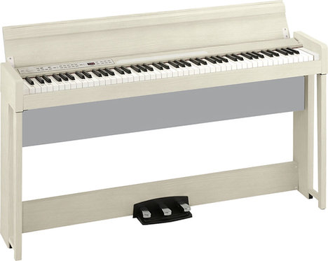 Korg C1 Air: Digital Piano with with Two Piano Sources White Ash finish