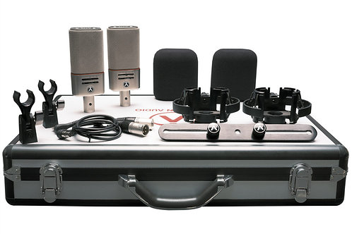 Austrian Audio OC818 Dual Set Plus: with Shockmounts, Dual-mic Case, and Accesso