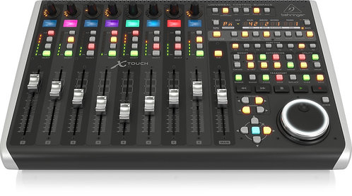 Behringer X-TOUCH: Universal Control Surface with 9 Touch-Sensitive Motor Faders