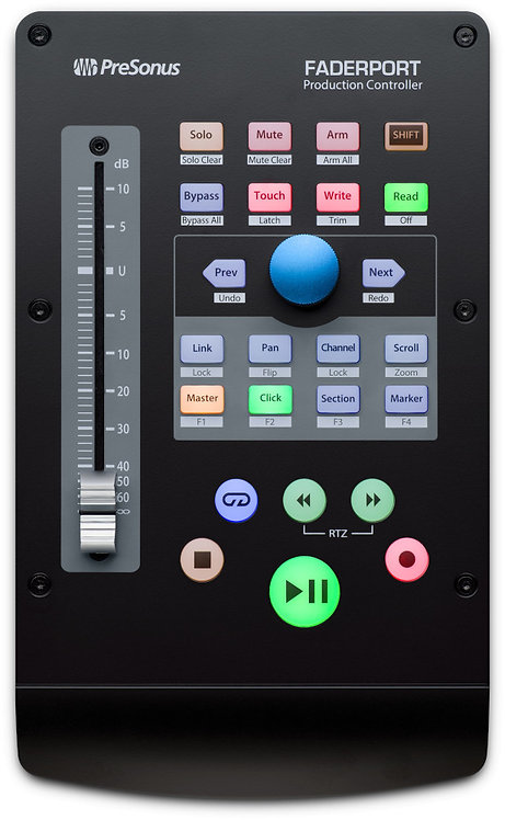 PreSonus FaderPort USB control surface with 1 motorized fader