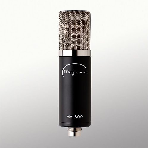 Mojave MA-300: Tube Mic With Continuously Variable Polar Pattern
