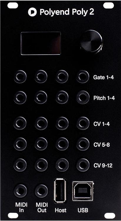 Polyend Poly2: MIDI to CV Converter