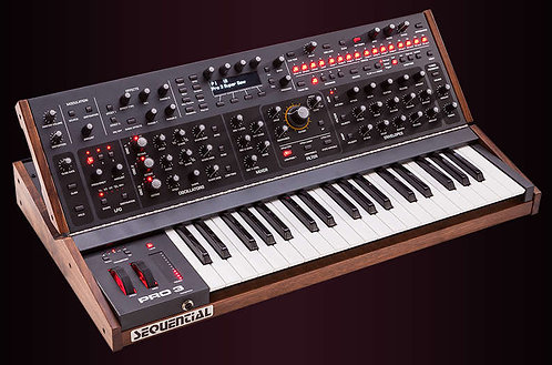Sequential Pro 3 SE - 37-key Hybrid Monosynth with 3-voice Paraphonic Mode