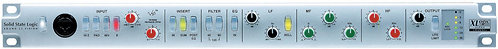 SSL Alpha Channel: Professional ultra-clean mic preamp with Hi Z imp. Switch