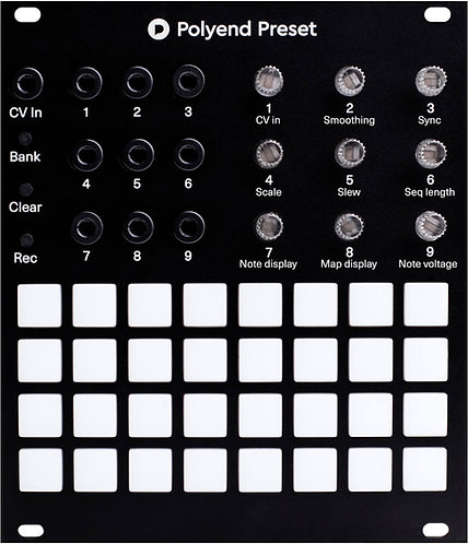 Polyend Preset: Recall Modular patches with Preset