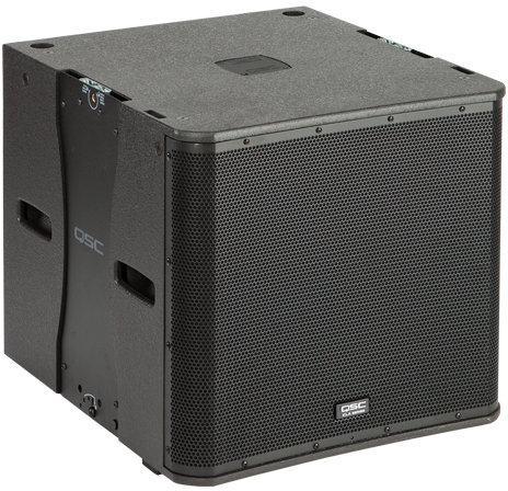 "QSC KLA181 18"" ported, 1000W subwoofer with integrated flying hardware"