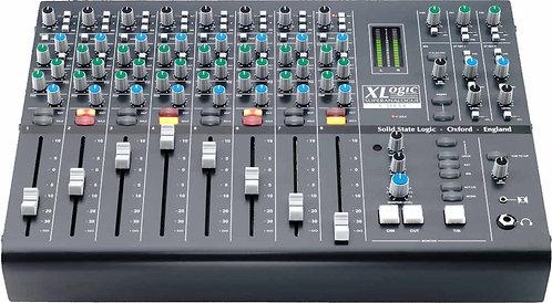 SSL X-Desk: 8 channel dual input Superanalogue mixer