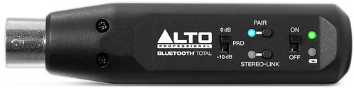 Alto BLUETOOTH TOTAL XLR-EQUIPPED RECHARGEABLE BLUETOOTH RECEIVER