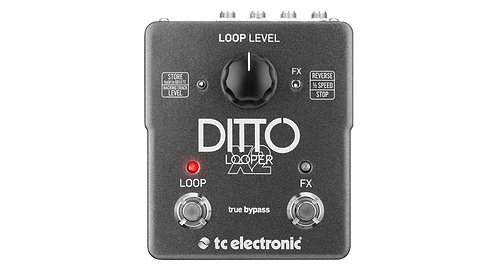 TC Ditto Looper X2: Highly Intuitive Looper Pedal