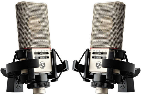 Austrian Audio OC818 Live Set: Matched Pair Side Address Mics