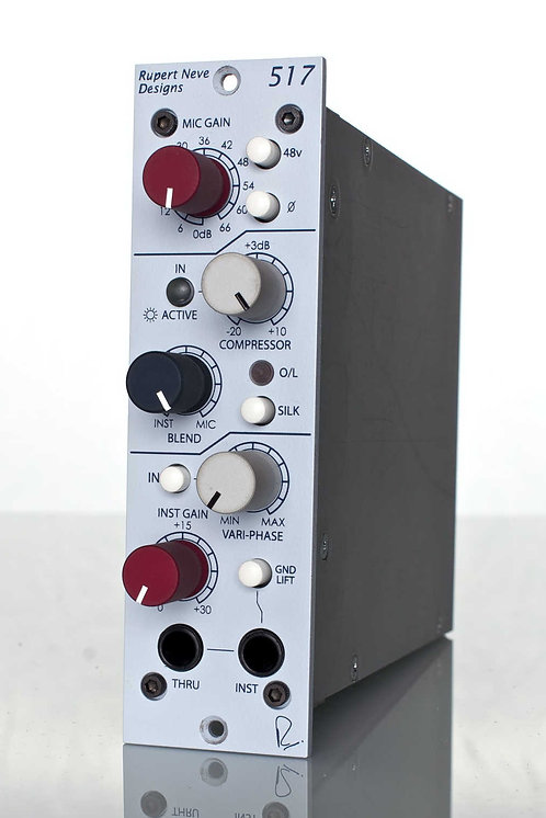 Neve 517: Mic Pre / DI / Compressor with Vari-phase