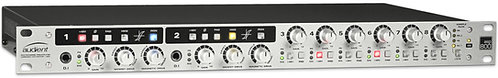 Audient ASP800:  8 Channel Mic Pre & ADC with 2 Channels of HMX & IRON