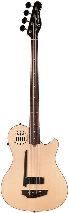 Godin A4 Bass ULTRA Natural SG Fretted RN SA