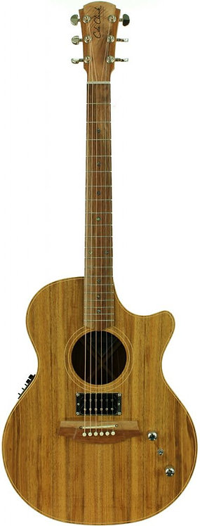 Cole Clark Angel 2: All Blackwood with dual outputs.