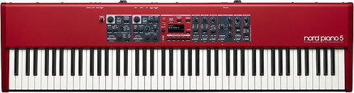 Nord Piano 5 88 : dual piano engines, dual sample synths and twice the memory