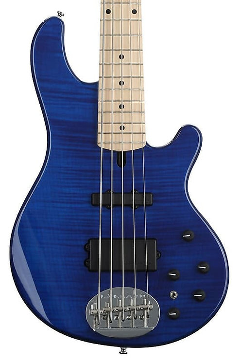 Lakland 55-02 Trans Blue / Maple Neck / Free Lakland Gig Bag