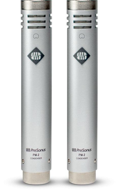 PreSonus PM-2: Stereo Pair of Small-Diaphragm Cardioid Condenser Microphones