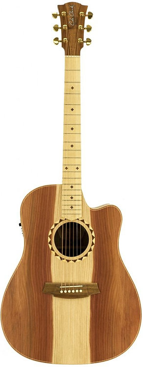 Cole Clark Fat Lady 2: Redwood and Blackwood with Satin Box fretboard