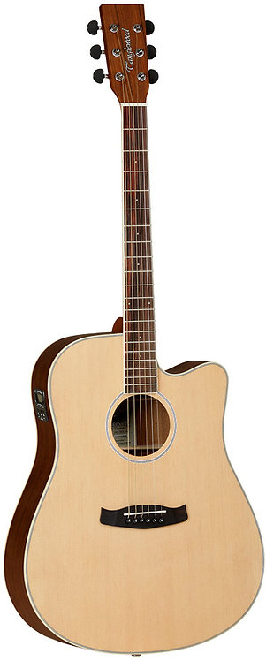 Tanglewood Discovery Dreadnaught Cutaway Spruce top Electronics