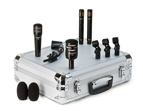 Audix DPQUAD 4-piece Drum Microphone Package