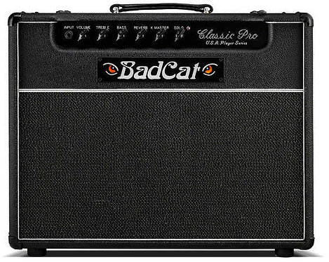 Bad Cat Classic Pro 20R: Player Series 20 Watt Class A (2 x 6v6) 1 x 12 Combo