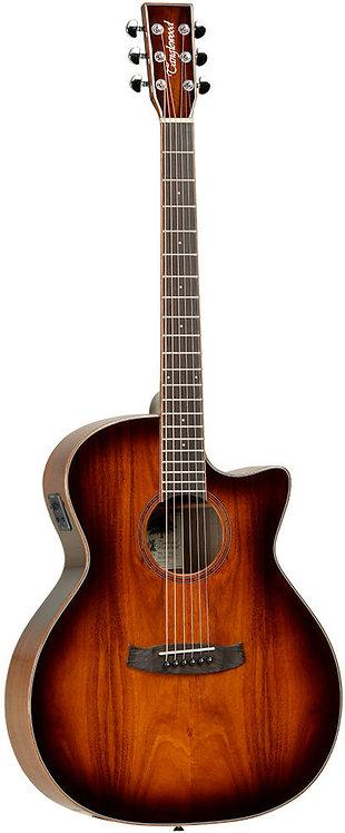 Tanglewood WINTERLEAF KOA FolkCutaway Acoustic Electric