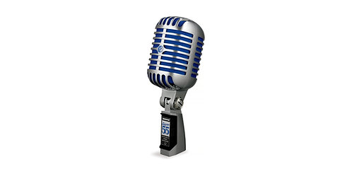 Shure Super 55: Classic Style Deluxe Vocal Microphone