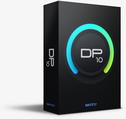 MOTU Digital Performer 10 Audio workstation software with MIDI sequencing