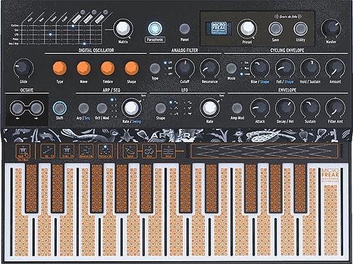 ARTURIA MicroFreak: 25-key Paraphonic Hybrid Hardware Synth with flat keyboard