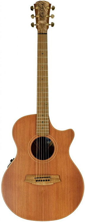 Cole Clark Angel 2: Redwood top with Blackwood back and sides