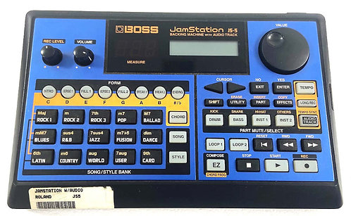Boss JS-5 Backing Machine Excellent
