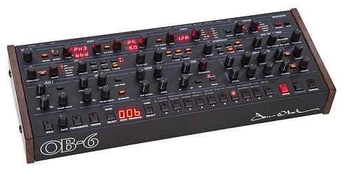 Sequential OB-6 Desktop 6-Voice Polyphonic Analog Synthesizer