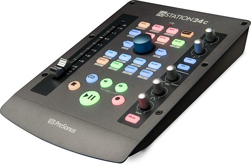PreSonus ioStation 24c audio interface and production controller