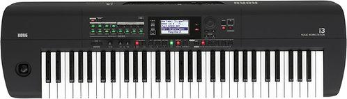 Korg i3 Music Workstation Matte Black - 61 keys, 790 sounds, 59 drum kits