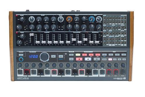 Arturia MiniBrute 2S: Semi-modular Analog Sequencing Synthesizer